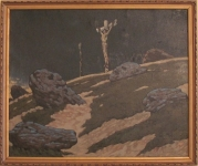 Marian Wawrzeniecki; Nowator; pocz. XX w.; olej, płótno