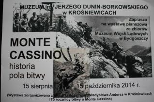 Plakat Monte Cassino
