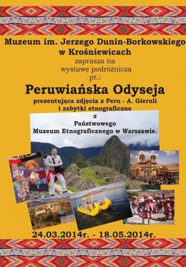 peruwianska odyseja plakat